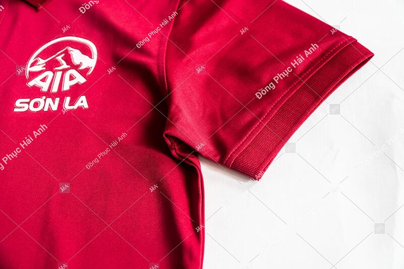 Thiết kế đồng phục công ty của Hải Anh tinh tế trong từng đường kim mũi chỉ