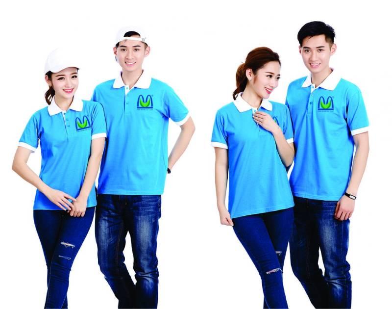 Áo thun đồng phục công ty - Mẫu áo đơn giản được mọi công ty yêu thích