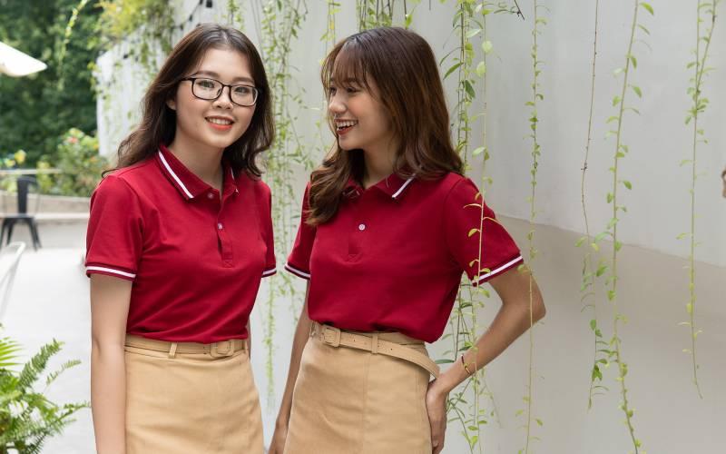 mẫu áo đồng phục công ty đẹp - chuyên nghiệp
