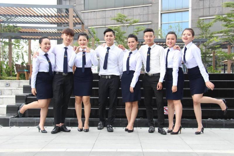 Áo sơ mi đồng phục công sở đẹp, địa chỉ may uy tín tại Bắc Ninh