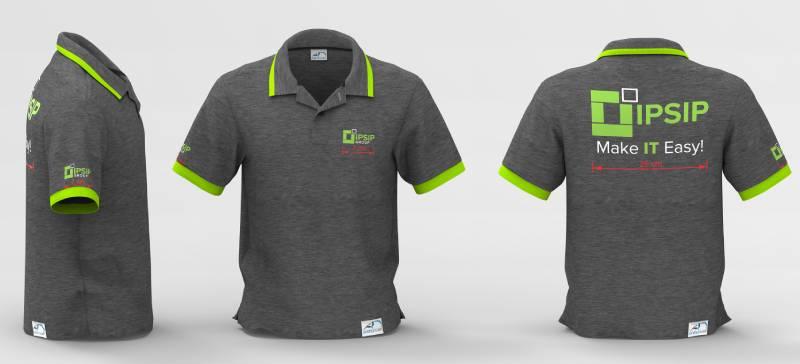 Lựa chọn màu sắc và hình ảnh trên áo phù hợp với bộ nhận diện thương hiệu