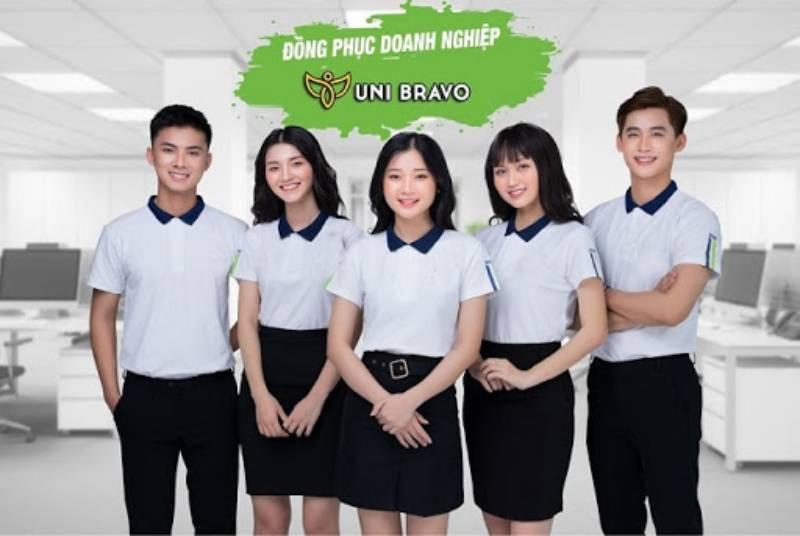 UniBravo là đơn vị có nhiều năm kinh nghiệm may đo đồng phục trên thị trường