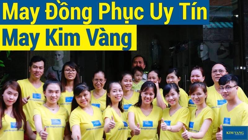 Đồng phục Kim Vàng - công ty may áo đồng phục tại TPHCM uy tín, đáng tin cậy
