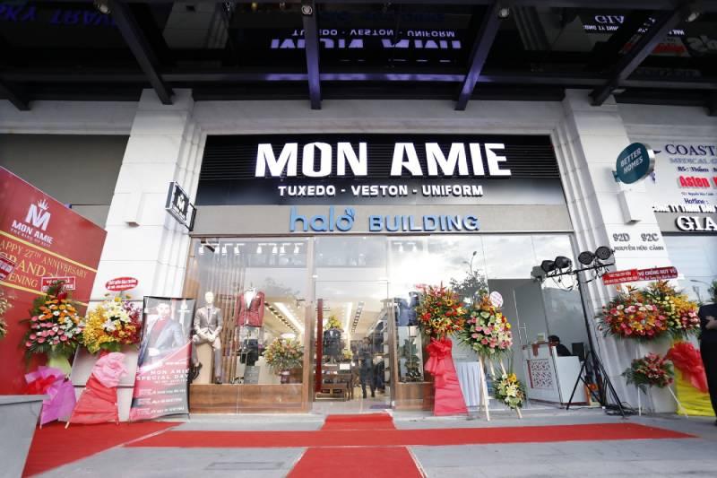 Đồng phục Mon Amie Veston đơn vị may đo đồng phục công ty cao cấp tại thành phố Hồ Chí Minh