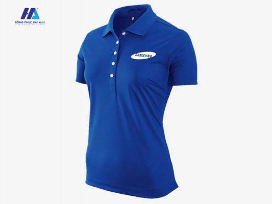 Thiết kế áo đồng phục công ty Samsung đẹp chuyên nghiệp