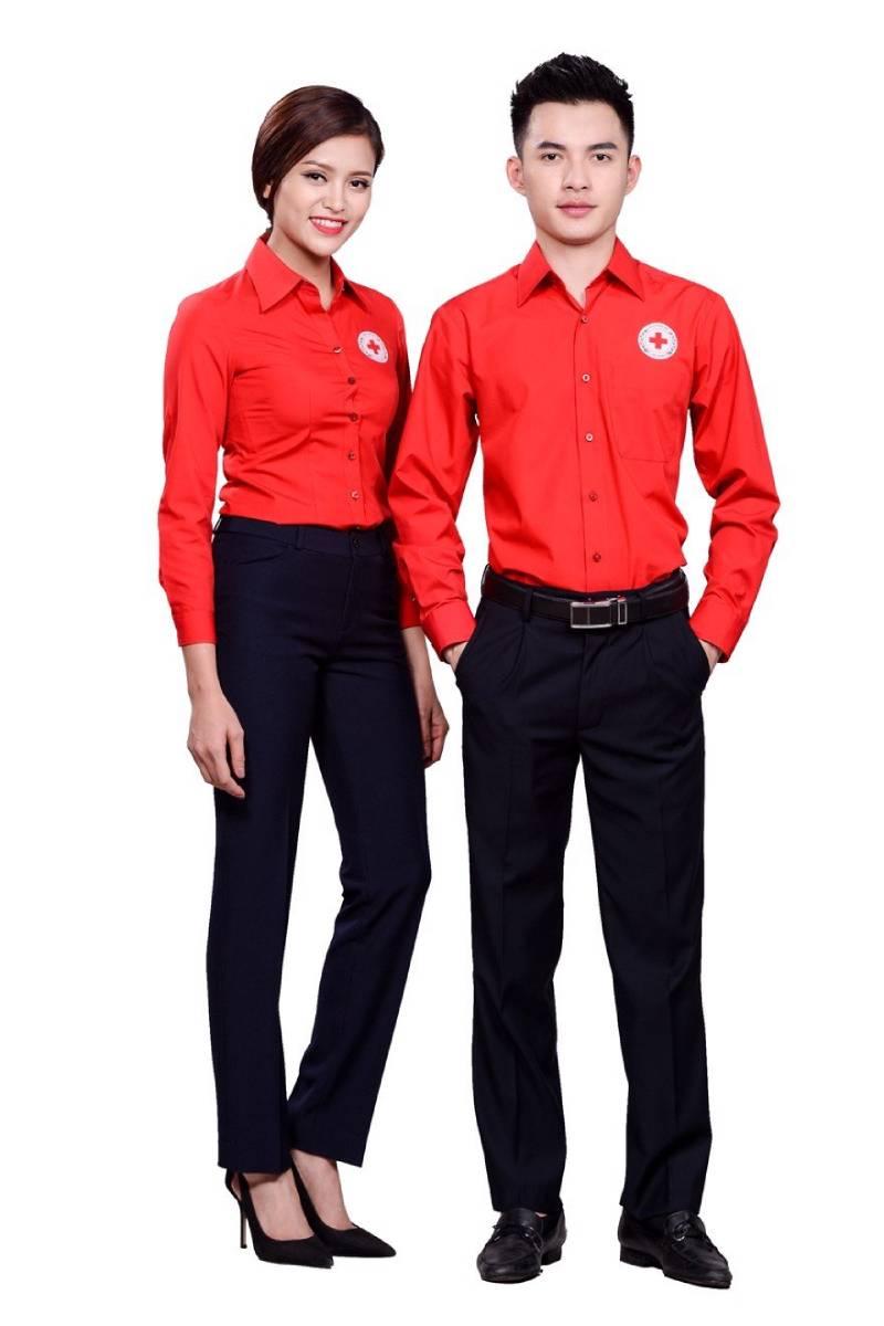 HP Uniform địa chỉ may áo đồng phục công sở ở Huế đẹp, mẫu mã độc đáo thể hiện nét đặc trưng doanh nghiệp