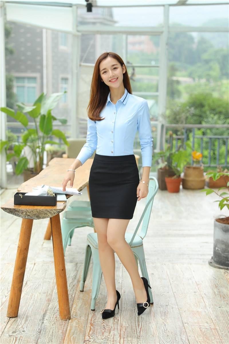 Chân váy công sở, tôn nên vẻ duyên dáng của nhân viên