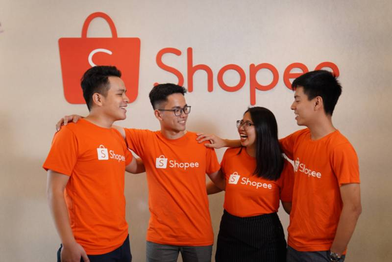 Đồng phục Shopee trẻ trung, năng động và hiện đại