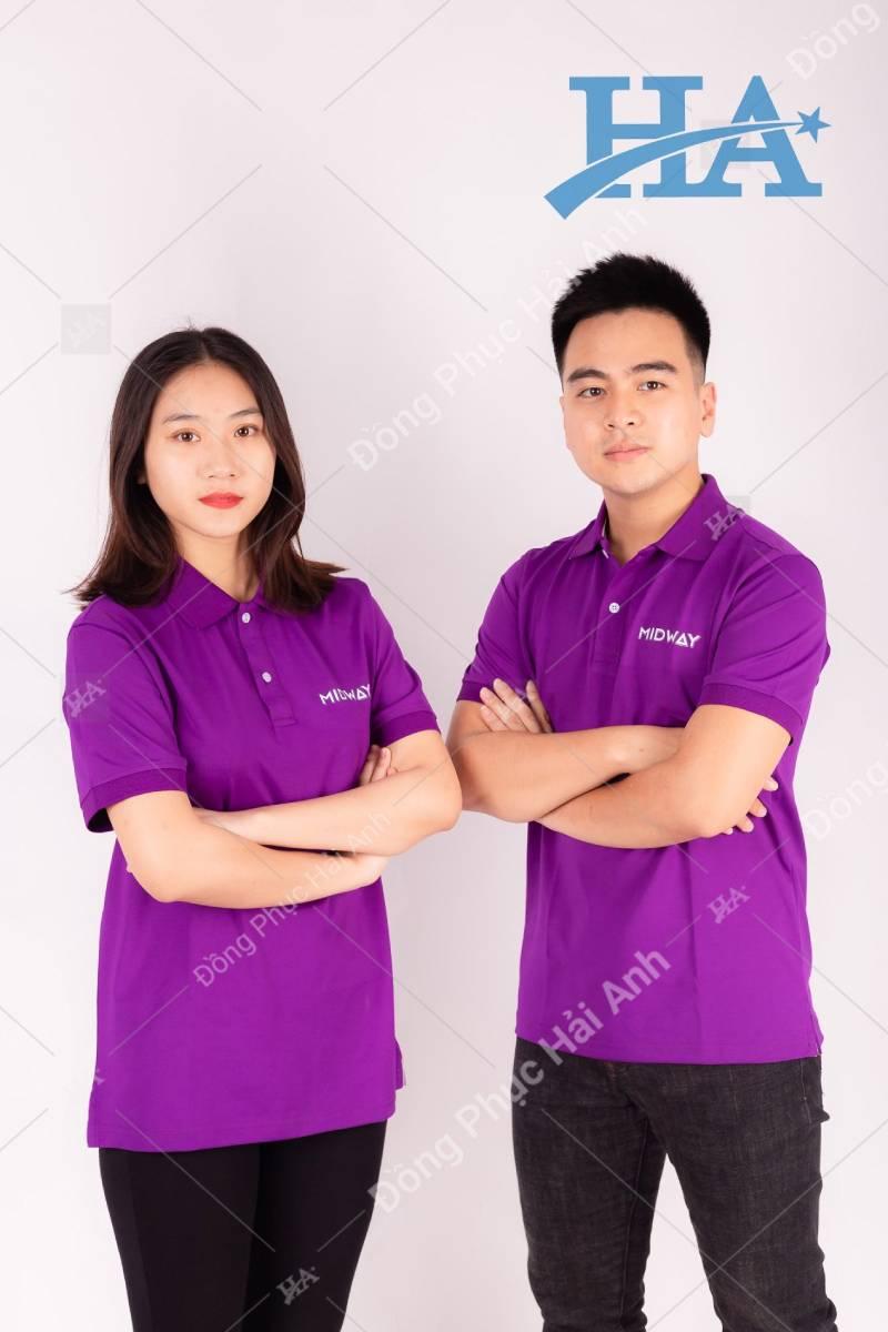 Đồng phục Hải Anh là một trong những đơn vị chuyên cung cấp các mẫu áo thun đồng phục công ty đẹp và chất lượng nhất trên thị trường hiện nay