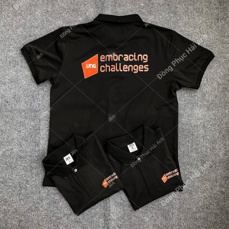 Dáng áo polo đồng phục sẽ phù hợp với các doanh nghiệp yêu cầu tính lịch sự cao hơn