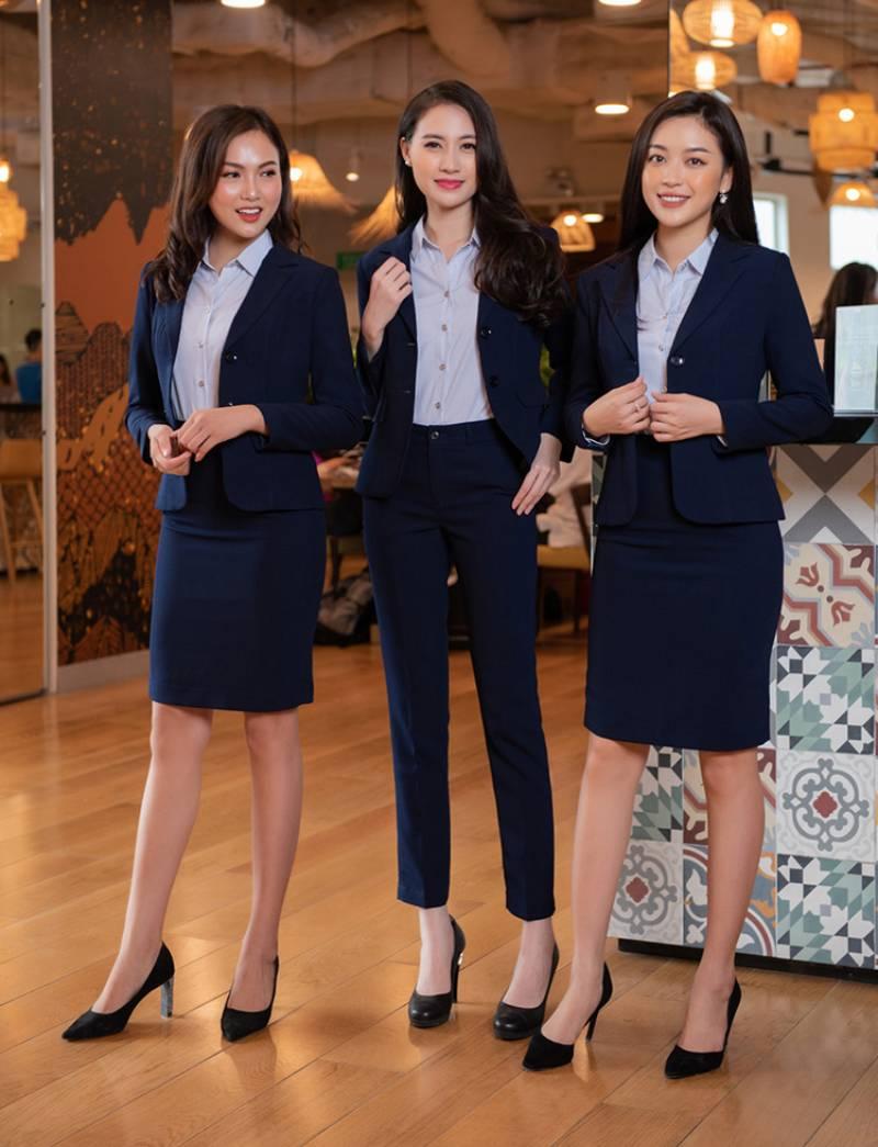 Đồng phục Hải Anh, chuyên áo vest, áo sơ mi, chân váy đồng phục công sở tại Hải Phòng