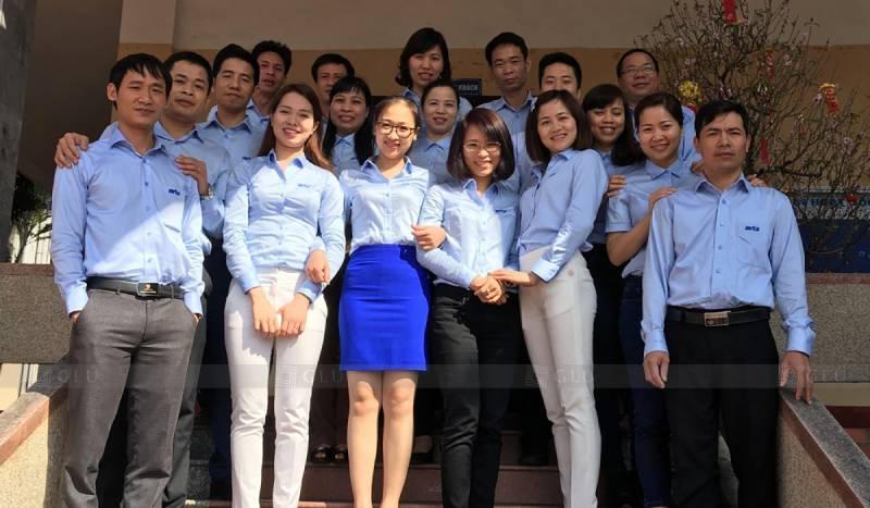 Đồng phục công sở đẹp giúp xây dựng văn hóa công ty chuyên nghiệp
