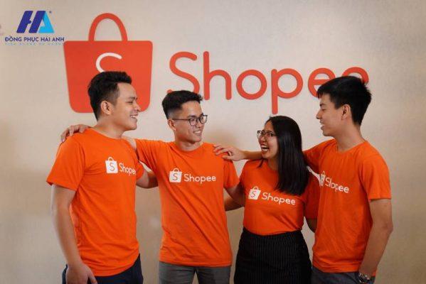 Đồng phục công ty Shopee