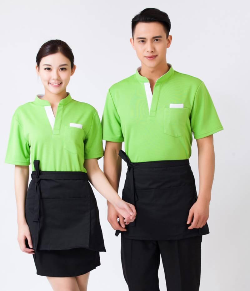 May đồng phục công ty tại Ái Vi sẽ làm khách hàng hài lòng nhờ các bộ đồng phục tinh tế, ấn tượng