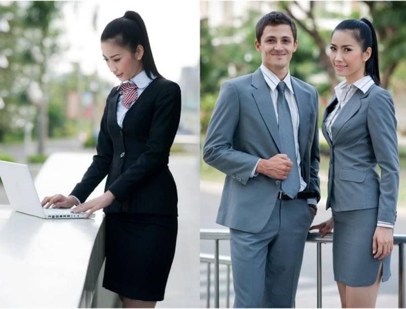 Áo vest đồng phục công ty thường sử dụng trong các dịp đặc biệt hoặc với các tập đoàn lớn yêu cầu tính chuyên nghiệp cao