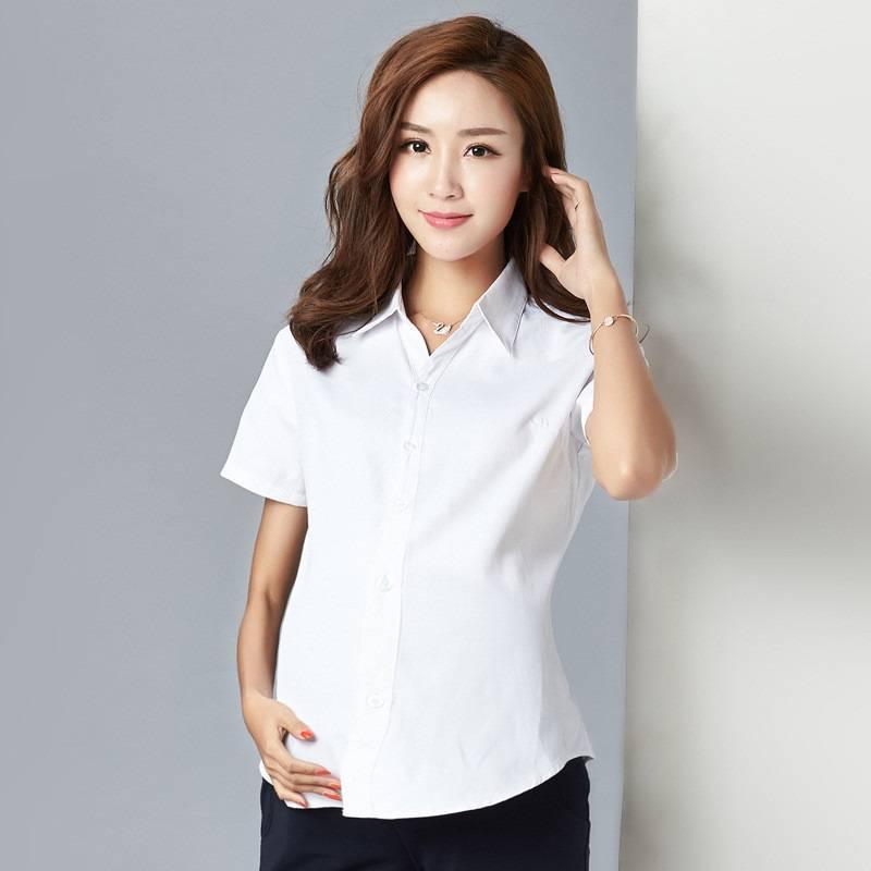 Đối với người mang bầu có thể không cần mặc đồng phục công ty hoặc sẽ được thiết kế riêng để tạo cảm giác thoải mái nhất cho các nhân viên trong giai đoạn này