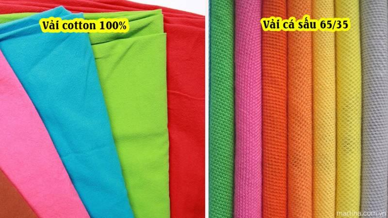 Chất liệu vải để làm đồng phục công ty cần đảm bảo lên form dáng chuẩn, đứng đắn