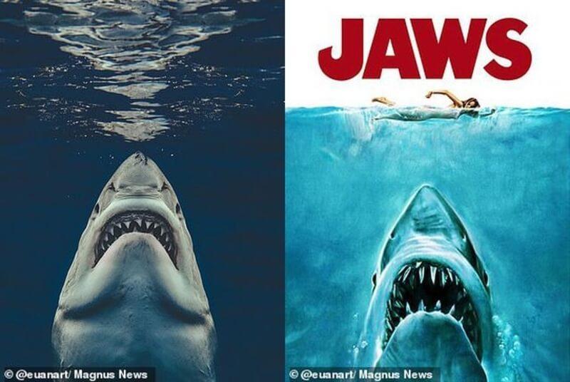 Nếu bạn ưa thích những thước phim kinh dị thì Hàm Cá Mập 1 là gợi ý đáng xem nhất 2021
