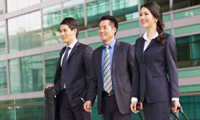 Đồng phục công sở đẹp và chất lượng nhất cần toát lên được tính chuyên nghiệp