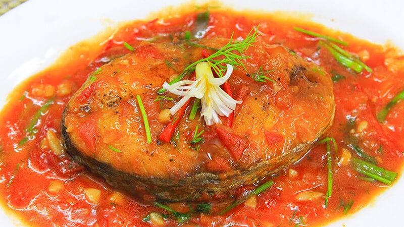 Cá sốt cà chua món ăn tốn cơm cho bữa trưa đủ chất