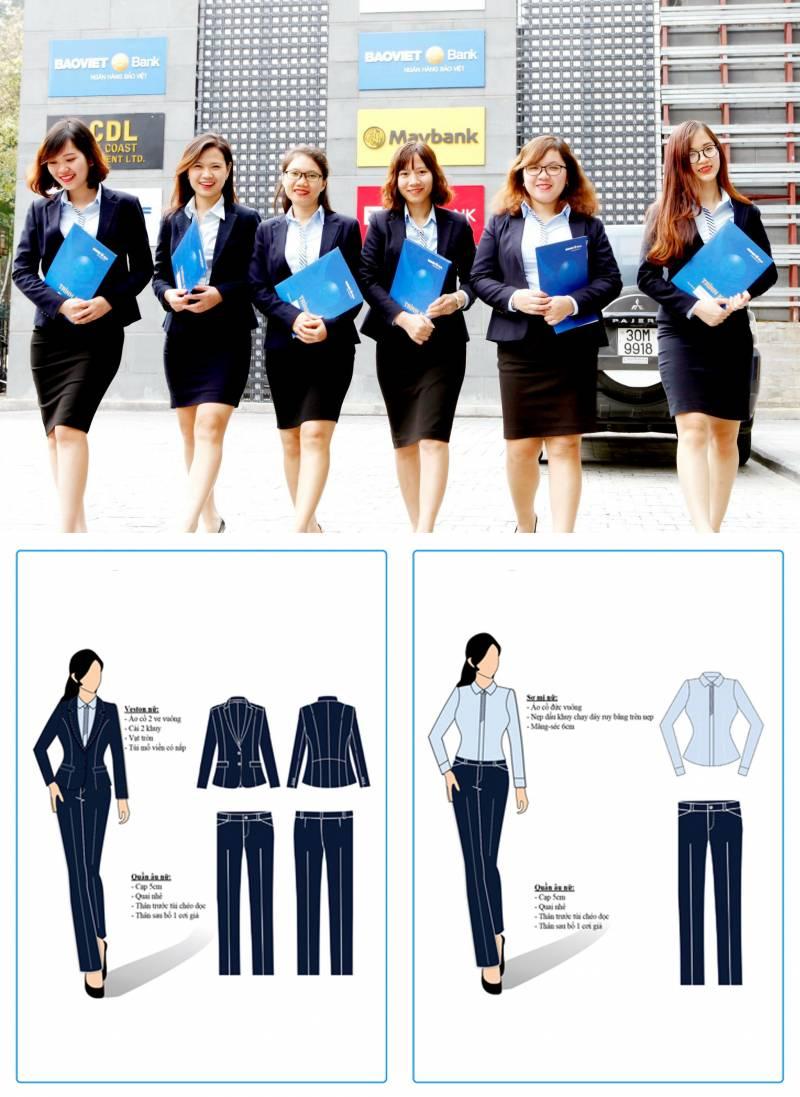 Hải Anh Uniform - thiết kế đồng phục tỉ mỉ thanh lịch