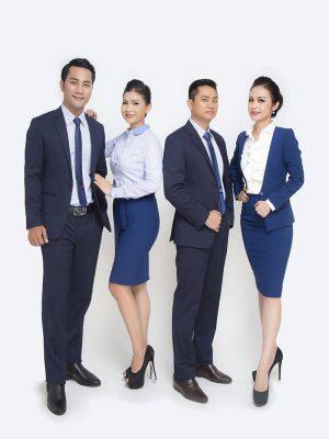 Siêu thị đồng phục công sở - Đại lý đồng phục tại Long An với số lượng lớn mẫu đồng phục đẹp, chuyên nghiệp