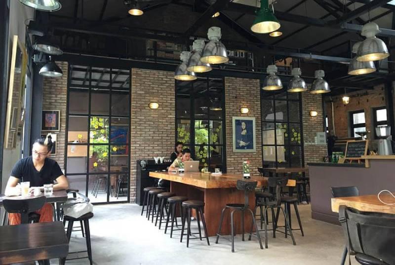 An Coffee mang đến không gian yên tĩnh cho bạn thỏa sức làm việc và sáng tạo