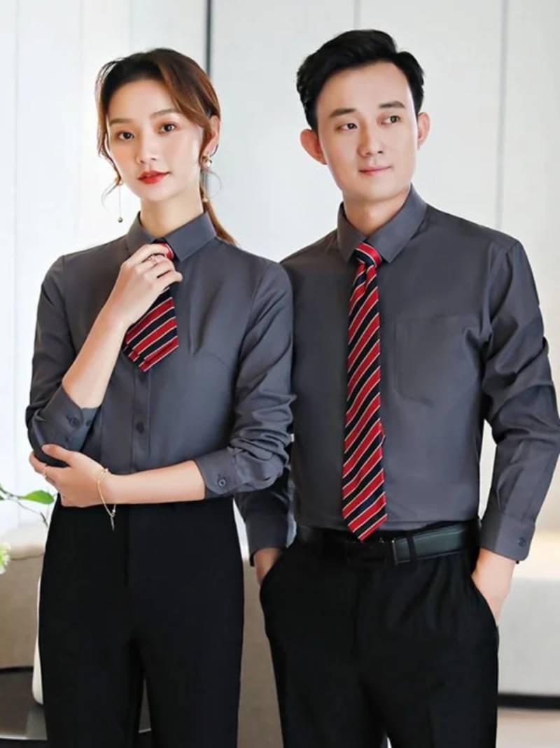 Công ty may đồng phục công sở tại Hà Tĩnh giá rẻ mà vẫn đảm bảo chất lượng tốt nhất, mang lại sự thoải mái cho người mặc