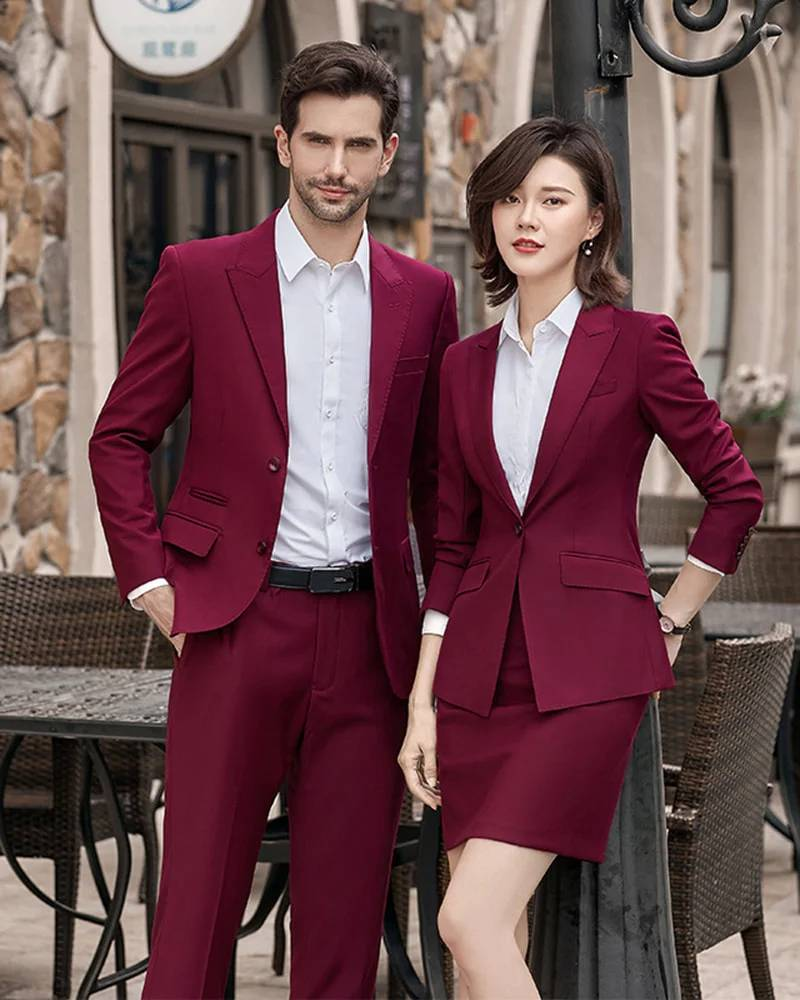 Áo vest đồng phục công sở mang nét sang trọng, nghiêm túc và đẳng cấp cho tác phong nhân viên,
