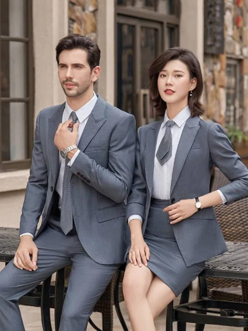 Đức Thắm, xưởng may, in đồng phục công sở chất lượng, giá cả cạnh tranh nhất trên thị trường