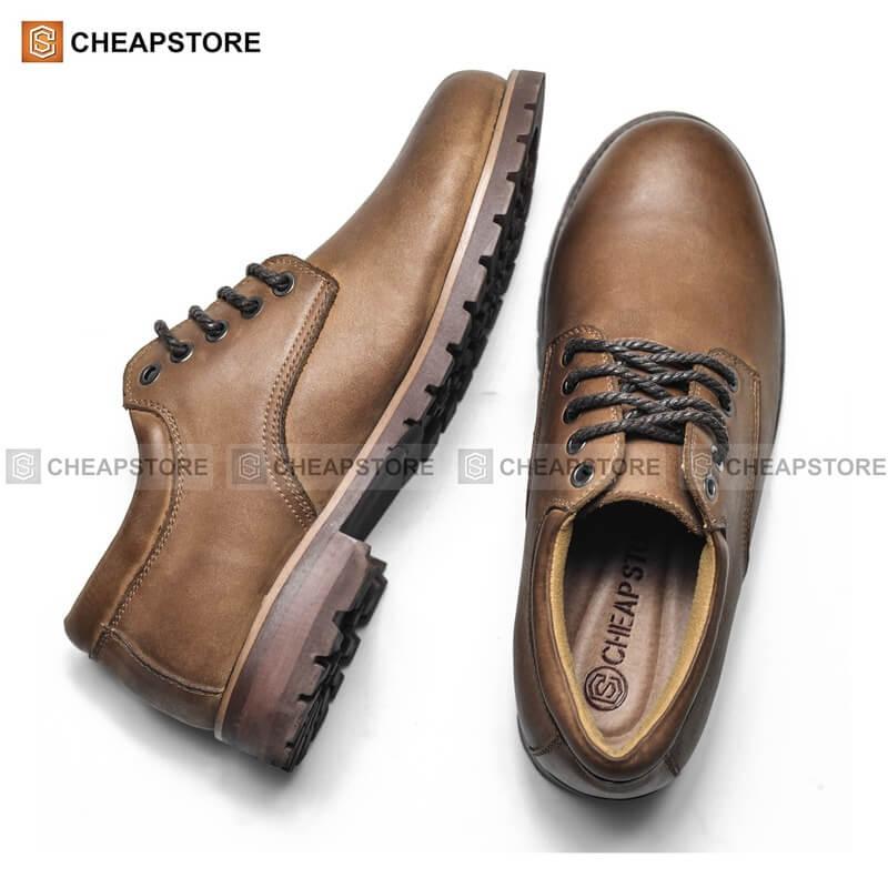 Thêm một cửa hàng giày da nam đẹp, cao cấp mà các anh chàng công sở không thể bỏ qua là Cheap Store