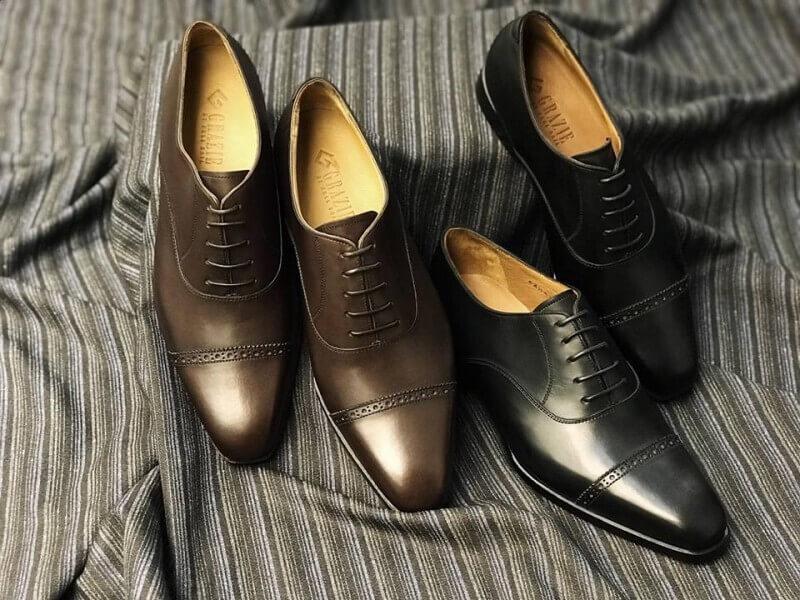 Mẫu giày tại Grazie sang trọng, đẳng cấp phù hợp để đeo cho các sự kiện quan trọng
