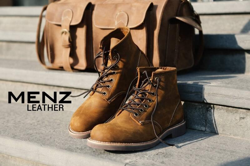 MenZ đem đến mẫu giày da dành cho nam giới trẻ trung, năng động