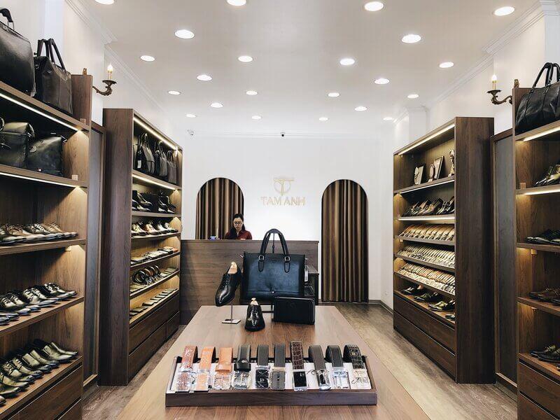 Thế giới đồ da Tâm Anh đem tới đa dạng các mẫu giày da cho dân văn phòng lựa chọn
