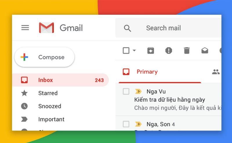 Thường xuyên kiểm tra tin nhắn công việc, email công ty...