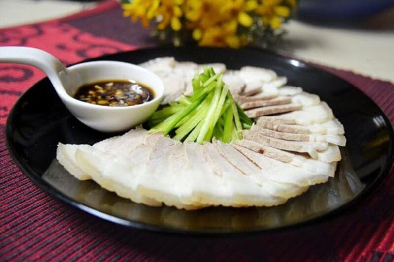 Thịt heo luộc, món ăn không thể thiếu cho thực đơn healthy của bạn