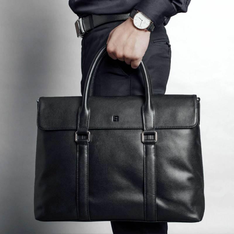Túi xách da nam, phụ kiện không thể thiếu cho quý ông thành đạt
