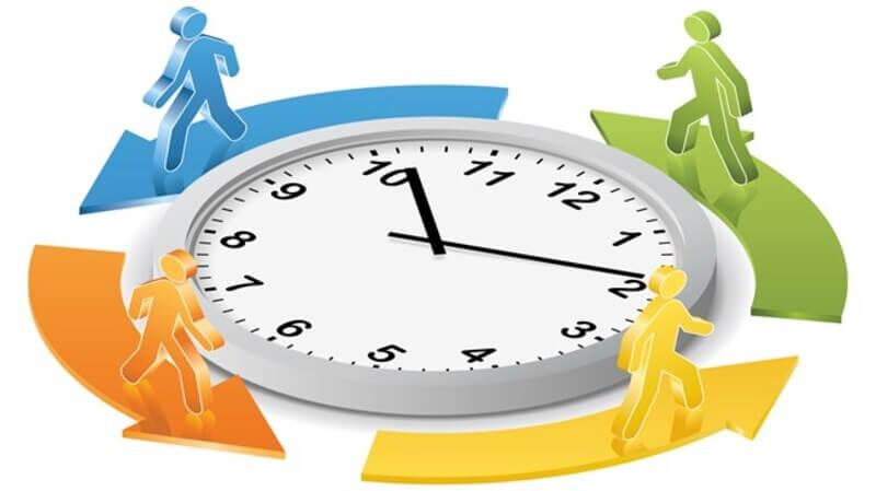 Theo dõi thời gian thực hiện công việc để đảm bảo bạn đang không bị làm quá chậm