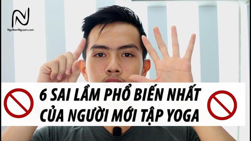 Kênh Youtube Ngô Nam Nguyên có nhiều bài tập yoga tại nhà phù hợp cho dân văn phòng