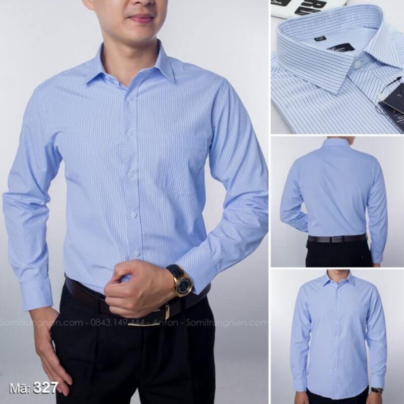 Anton là thương hiệu áo sơ mi cao cấp được người Việt tin dùng