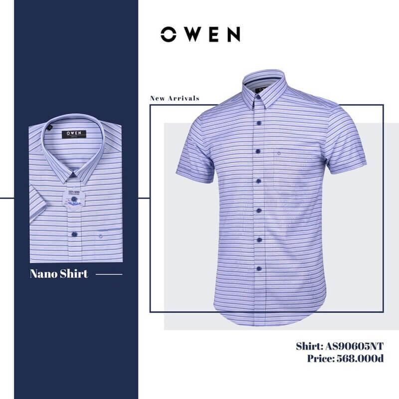 Owen nổi tiếng với những mẫu áo sơ mi đẹp, lịch sự và sang trọng