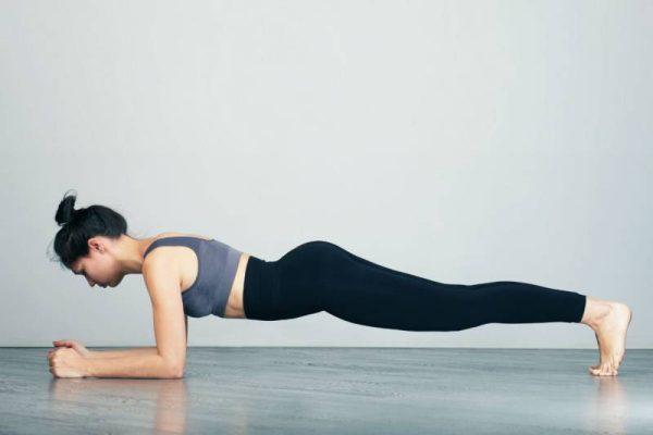 Động tác cơ bản của Plank dễ thực hiện nhất