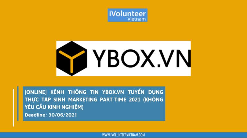 Ybox - kênh tuyển dụng với nhiều ứng viên trẻ, học sinh, sinh viên
