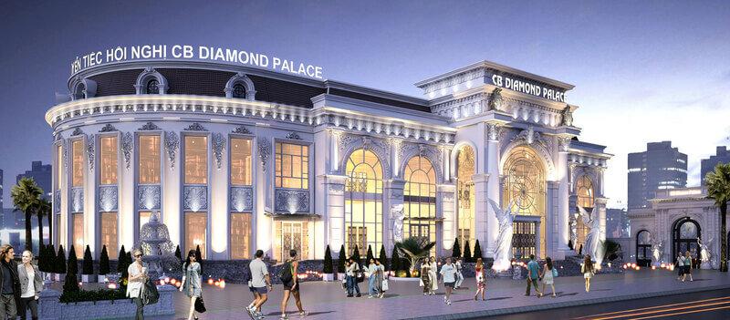 Địa điểm tổ chức sự kiện Diamond Palace sang trọng, hiện đại cho event doanh nghiệp