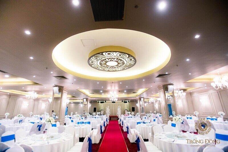 Trống Đồng Palace - địa điểm tổ chức sự kiện tại Hà Nội đẹp, hiện đại và sang trọng