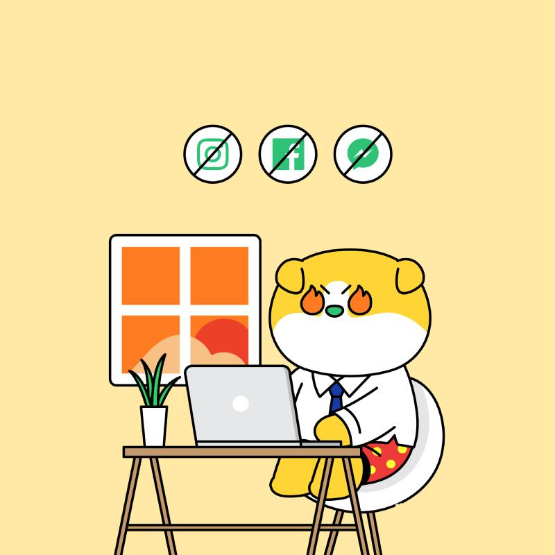 Phân bố thời gian làm việc online hợp lý, đảm bảo hiệu quả cao nhất
