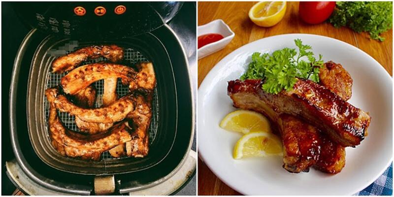 Sườn nướng ngũ vị - món ăn đổi khẩu vị cho cả gia đình dễ thực hiện cùng nồi chiên không dầu