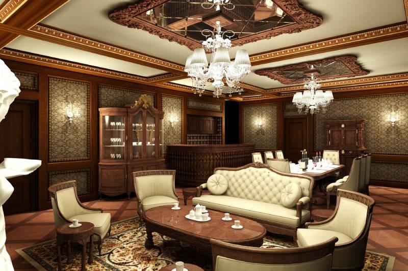 Thiết kế nội thất mang phong cách cổ điển mang tới sự sang trọng cho không gian sống