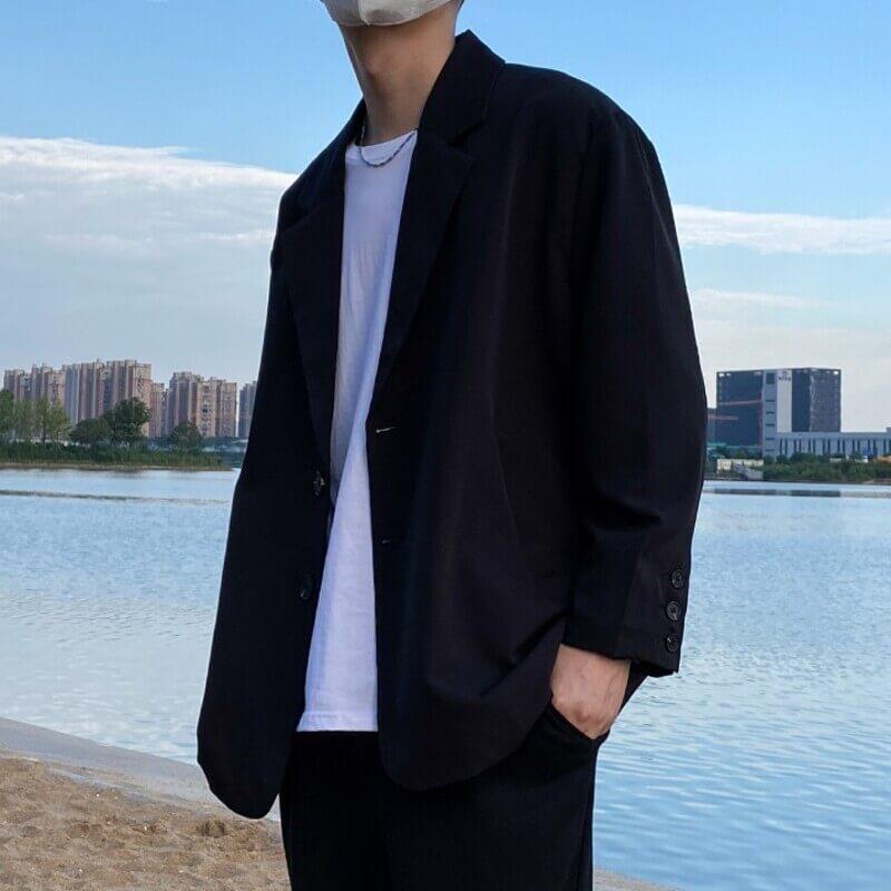 Phối quần tây với áo blazer nam - phong cách đi làm cho phái mạnh mùa thu đông