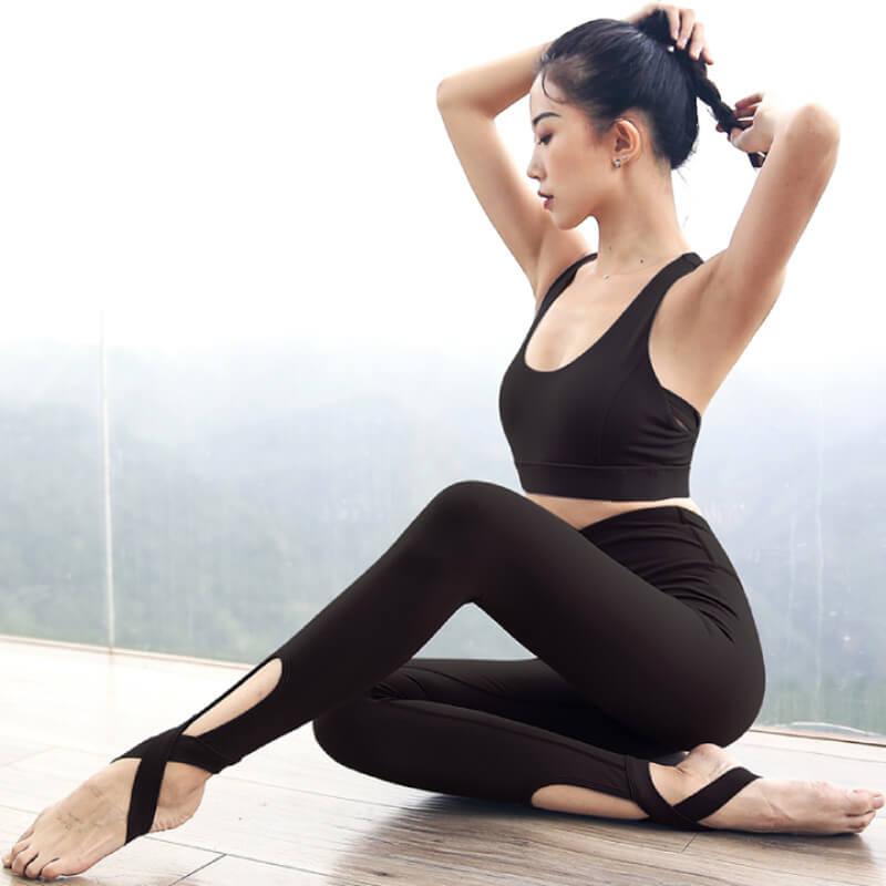 Áo Crop top trang phục tập yoga được các chị em ưa chuộng